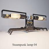 Steampunk lamp 04