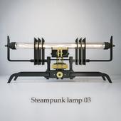Steampunk lamp 03