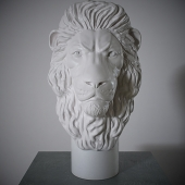 Bust of a lion