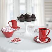 valentine's breakfast set