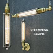 Steampunk lamp 05