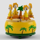 Musical roundabout Lions