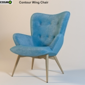 Contour Wing Chair