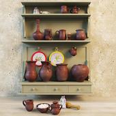 Set pottery