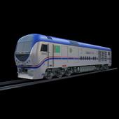 Turkmen Railway Locomotive