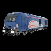 Iranian Railway Locomotive