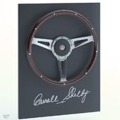 Shelby Cobra steering wheel