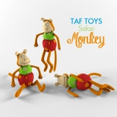 TAF TOYS, Safari, Monkey