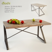 Table made of solid teak Sebb 150