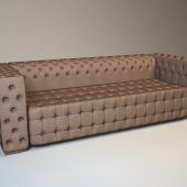Capitol Collection Serge 3 Seater Sofa