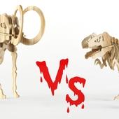 Тиранозавр VS Мамонт