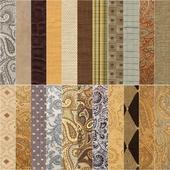 A set of interior fabrics (East)