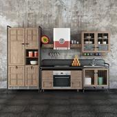 Dialma Brown Workshop kitchen
