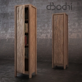 The cabinet made of solid teak Lucy