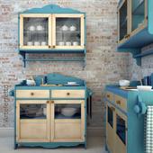arteferretto cabinet and wall cabinet