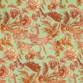 Fabric with a pattern