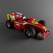 Электромобиль Ferrari F1