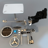 Набор приборов и элементов для яхт и катеров