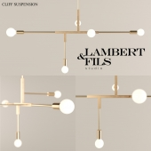 Lambert & Fils Cliff Suspension Lamp