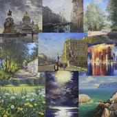 Classical landscape works Paintmart