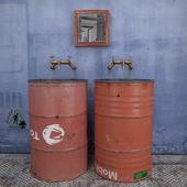 "Washbasin ""Industrial set"""