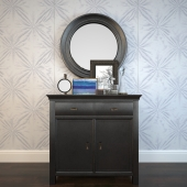 Decorative set with dresser