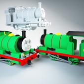 паровозик Перси / Percy engine