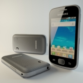 Samsung Galaxy Gio Low Poly
