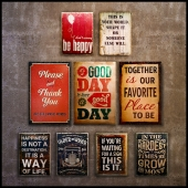 Collection 7: interior plate (decorative signboard, wood panels, wood poster)
