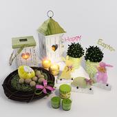 """Набор декора """"Easter happy"""" 3"""