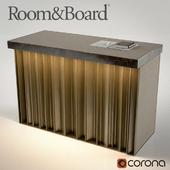 Room & Board Reception Desk