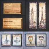 The picture in the frame: 9 piece (Collection 8)