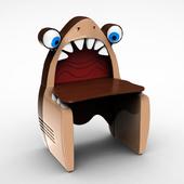 Desk Shark Cilek Black Pirate