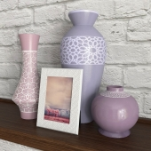 Vase, photo frame