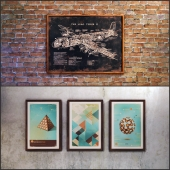 The picture in a frame: 6 piece (Collection 12) Loft