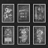 Patent Print - White Ink