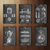 Patent Prints Set