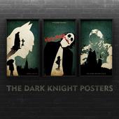 The Dark Knight Trilogy - Poster Art