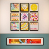 The picture in the frame: 14 piece (Collection 19)