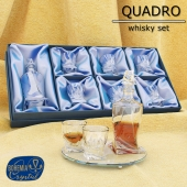 Set for whiskey Quadro