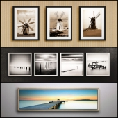 The picture in the frame: 22 piece (Collection 28) Picture Frame