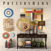 Pottery Barn decor set