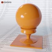 Orange rough plastic