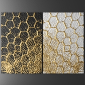 Decor for wall. Panel. 3D