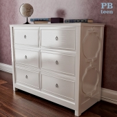 Chest of drawers PB Teen Elsie Wide Dresser