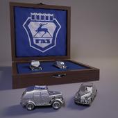 Сувенирный набор ГАЗ 69 И Победа