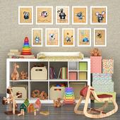 Декоративный набор для детской №2