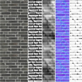 brick texture.