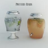 Dispenser for beverages Pottery barn