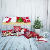 Декоративные подушки Crate & Barrel